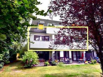 helle und ruhige 2.5 Zi. Wohnung Bremen-Lesum, 106 m², 2 Balkone, 2 Bäder, 2 Kellerräume, 1-2 Garage