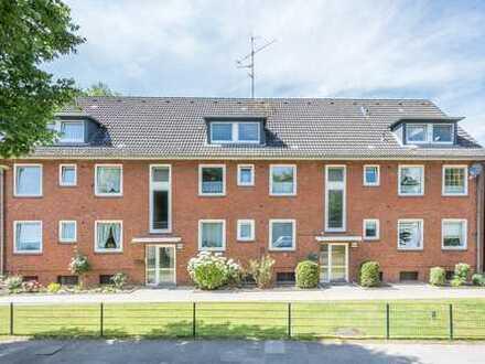 Vermietete Wohnung mit Balkon in gepflegter Anlage in HH-Bramfeld zu verkaufen