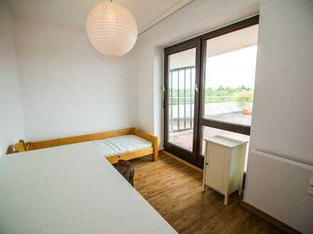 Kleines aber feines Zimmer in Sachsenhausen Süd in internationaler WG