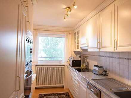 Erstbezug nach Sanierung mit Küche, Balkon und Sauna: freundliche 3-Zimmer-Wohnung in Freudenstadt