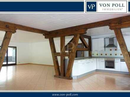 Großzügige Obergeschosswohnung mit viel Charme in ruhiger Wohnlage in Weilrod
