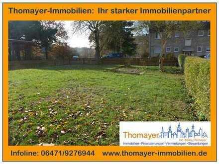 ***Ebenerdiges Baugrundstück in Weilburg Taunusseite!!!***