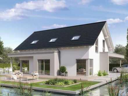Exklusives Architektenhaus, innovative Technik und niedriger Energiebedarf