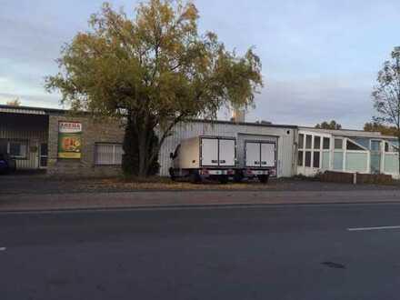 Produktions- und Lagerhalle: Fleischverarbeitung (ca. 1.750 m² Gewerbefläche, 3.958 m² Grundstück)