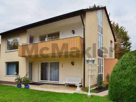 Gepflegtes 10-Zi.-Wohnhaus mit Garten und 3 Parkplätzen in der Nähe der Wieblinger Neckarwiesen