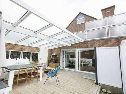 Schöne Erdgeschosswohnung mit Sonnenterrasse im Zentrum von Greven/ideal für Pärchen oder Singles!