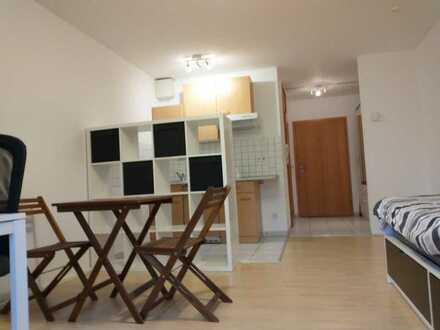 Exklusive 1-Zimmer-Hochparterre-Wohnung mit Balkon (Süden/Neckar) und Einbauküche in Heidelberg