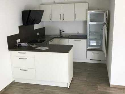 Neuwertige Wohnung mit zwei Zimmern sowie Balkon und Einbauküche in Manching Oberstimm