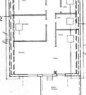 3-Zimmer-DG-Wohnung mit großer Terrasse in Trier