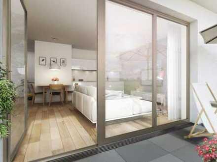 Zur Investition oder Eigennutzung! Hochwertige, formschöne 2-Zimmer-Wohnung mit großzügigem Balkon