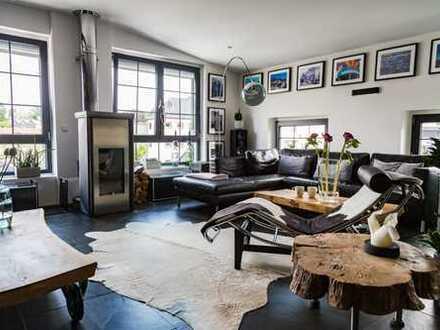 Einzigartige, moderne und exklusive Loft-Wohnung mit Dachloggia im Zentrum von Ronsdorf