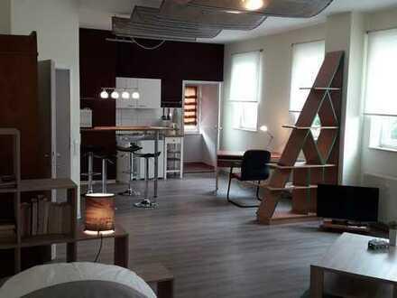 Möblierte, geräumige, helle 1-Zimmer-Wohnung in Leinfelden-Oberaichen