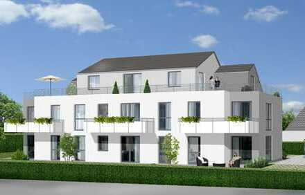 Wohn(t)raum für Jung und Alt = Neubau-Eigentumswohnung im EG mit Süd-Terrasse, Garten und Aufzug