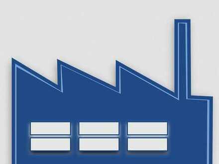 Projektierte Gewerbe-/Lagerhalle