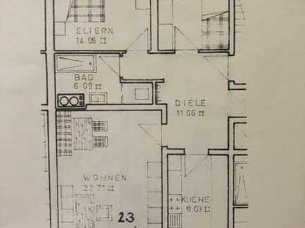 Renovierte 3-Zimmer-Wohnung mit Balkon und Einbauküche in Mindelheim