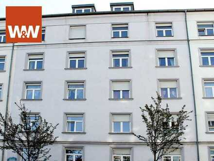 Gepflegte Wohnung am Rande der Neustadt mit praktischem Grundriss