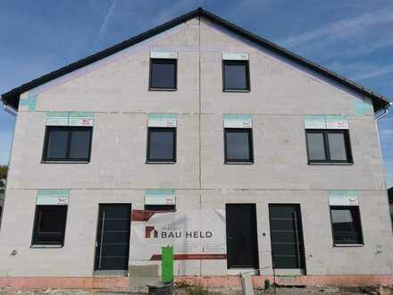 Neubau Doppelhaushälfte zu vermieten