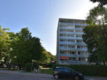 Gut geschnittene 1-Zimmer Wohnung zum selbst gestalten in Ramersdorf - Perlach!