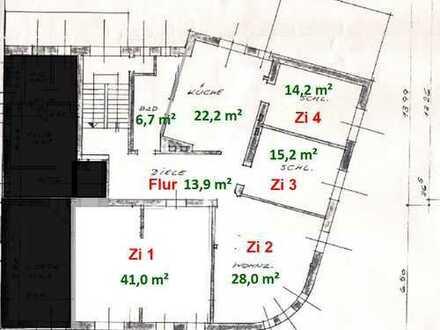 Erstbezug nach Kernsanierung: 4-Zi Wohnung BO-Weitmar, Am Schloßpark