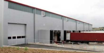"""""""BAUMÜLLER & CO."""" ca. 6.500 m² Halle + 1.500 m² Büro - nah an A661 -"""