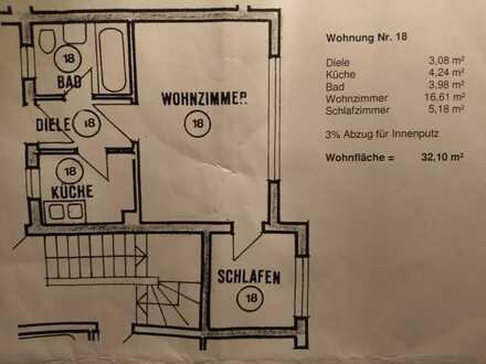 Gepflegte 2-Zimmer-Wohnung mit EBK in Heidelberg