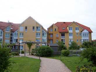 Helle 2-Zimmer Erdgeschoss-ETW im Betreuten Wohnen Landsberg – AIGNER IMMOBILIEN SERVICE