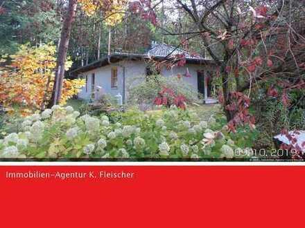 Einfamilienhaus im Bungalowstil auf Waldgrundstück