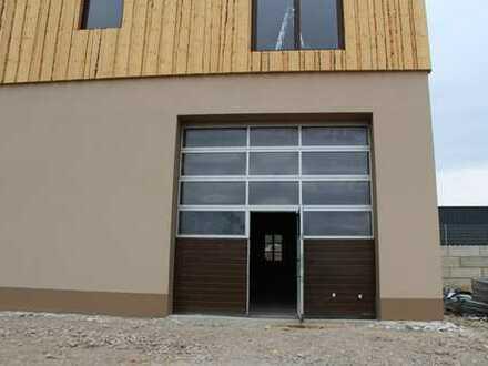 Neubau Lagerhalle mit Büroetage