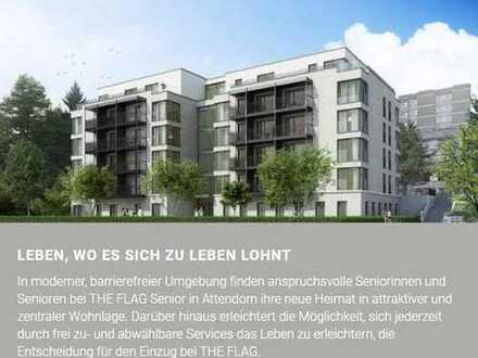 NEU: seniorengerechtes Servicewohnen in Attendorn, möblierte 2-Zimmer-Wohnung mit Balkon