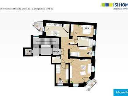 Mehr Platz zum Leben - großzügige 4 Raum Wohnung mit Balkon