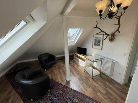 Modernisierte voll möbilierte 2-Zimmer-Wohnung mit EBK in Baden-Baden