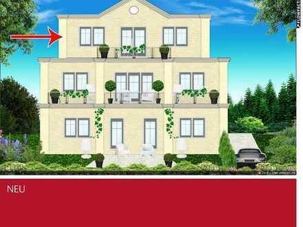 Neubau-Penthousewohnung mit Dachterrasse in zentrumsnaher Lage von Borken