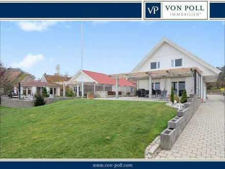 Modernes 2-Generationen-Anwesen * Wohnen und Arbeiten in idyllischer Lage * Wohnen und Vermieten