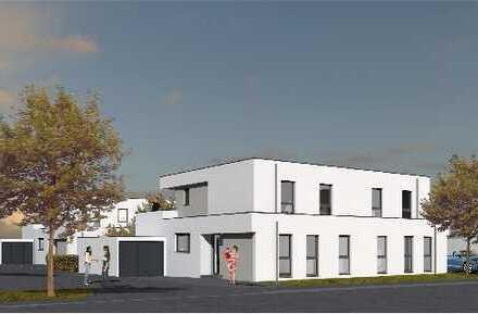 Provisionsfrei , Neubau Doppelhaushälfte im Bauhausstil