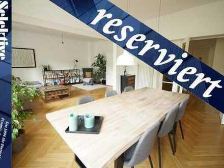 Essen Huttrop: Elegante & Moderne Altbauwohnung mit großer Loggia und Wintergarten und Parkettböden