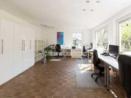 Attraktive Büroeinheit mit großzügigen Garten