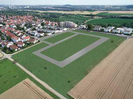 Bauplatz Nr. 15 + 16: Großer Top Bauplatz in Südlage