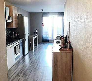 Schöne 2,5 Raum Wohnung mit modernem Tageslichtbad und XXL Balkon!!