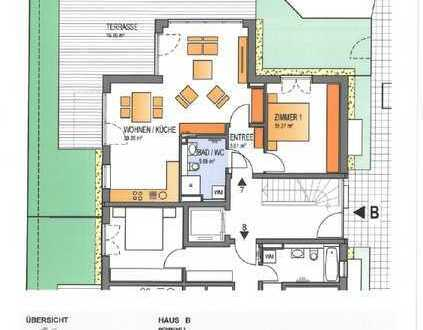 Gartenwohnung mit zwei Zimmern in Germering (Neubau)