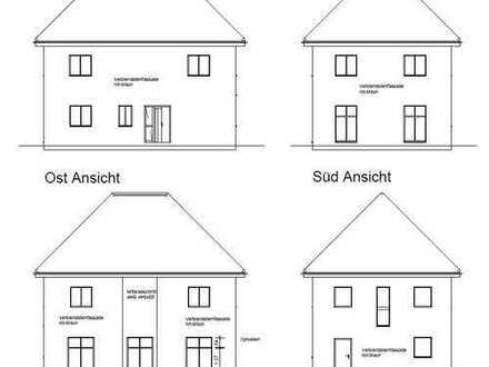Grundstück im Zentrum mit Baugenehmigung - Stadthaus-Villa mit Ausbaureserve ***KfW 55***