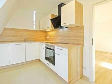 Erstbezug nach Sanierung * 2-R.-W. * DG * EBK * Küche und Bad mit Fenster * Denkmal * Weitblick *