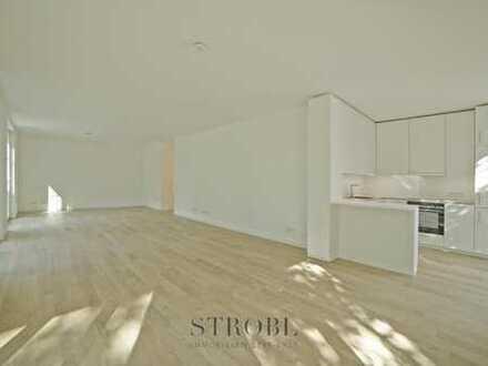Komfort und Eleganz - moderne 4- Zimmer- Neubauwohnung mit Garten