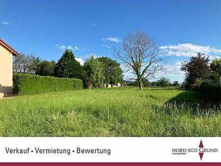 Baugrundstück in Sinzheim. Mit direktem Blick ins Grüne. 610 m². Sofort bebaubar.