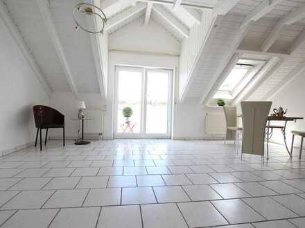 Pfiffige Maisonette- Wohnung mit Südbalkon und Einbauküche: 65 qm in Hockenheim