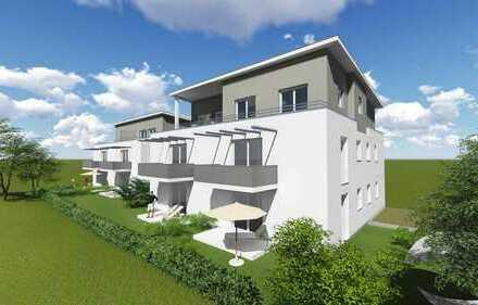 Neubau in Eschach: Freundliche 2-Zimmer-Wohnung