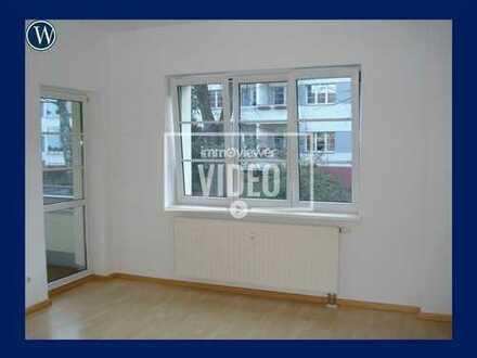 Quadratisch, praktisch, GUT – Stadtnahe 2-Raum-Wohnung im Grünen – mit Balkon und Wannenbad
