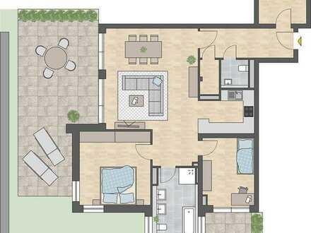 Neubau! 3-Zimmer-City-Wohnung