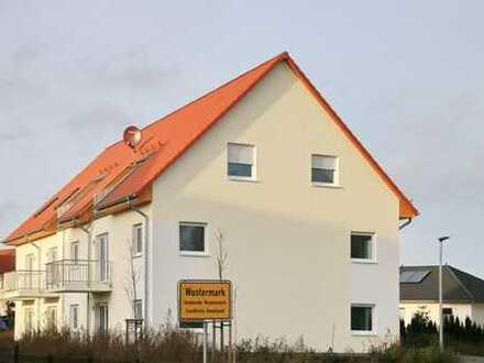 Wustermark - 2 Zimmer Erdgeschosswohnung mit Terrasse