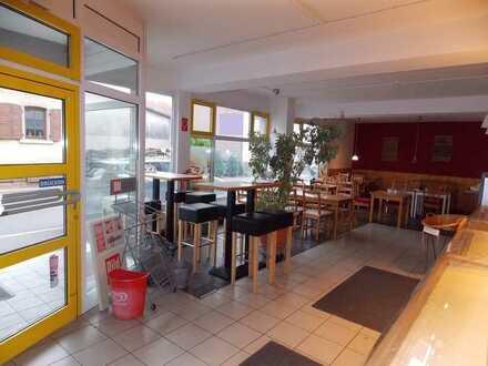 Büro-/Gewerbefläche in Odenheim: Vielseitig nutzbar, große Fensterfront, frequentierte Lage