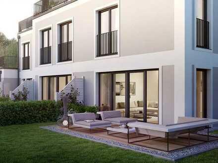 Modernes Platzwunder für die ganze Familie – Garten und Sonnenterrasse inklusive